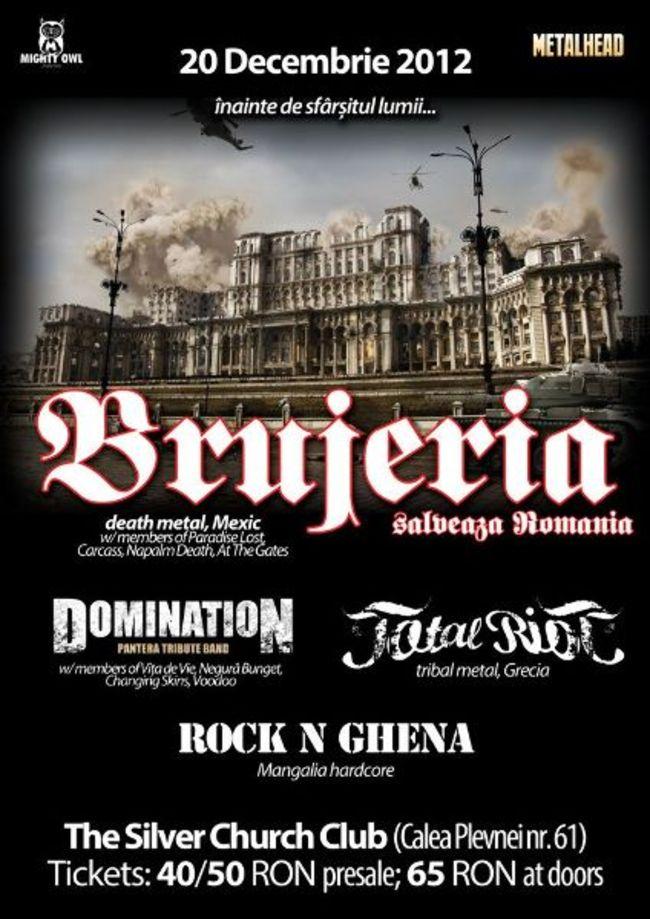 Brujeria--Domination--Total-Riot--Rock-N-Ghena--Concert-in-Bucuresti-la-Silver-Church