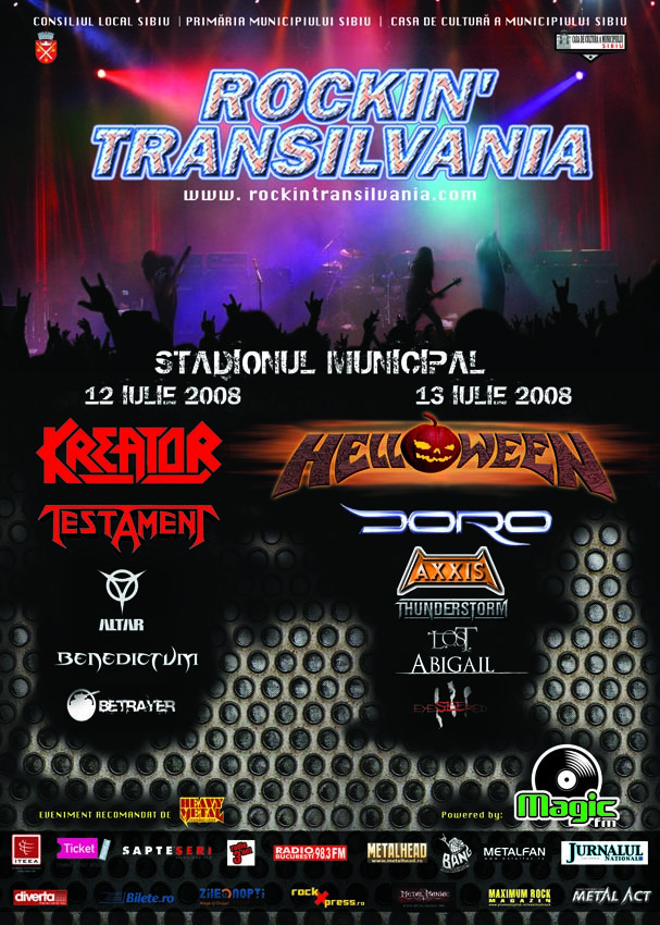 rockin transilvania 2008