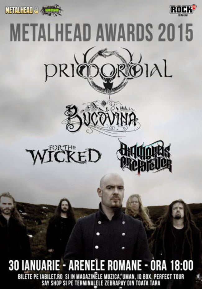 PRIMORDIAL--Bucovina--For-The-Wicked-si-Diamonds-Are-Forever--canta-pe-30-ianuarie-la-METALHEAD-Awards---Concerte